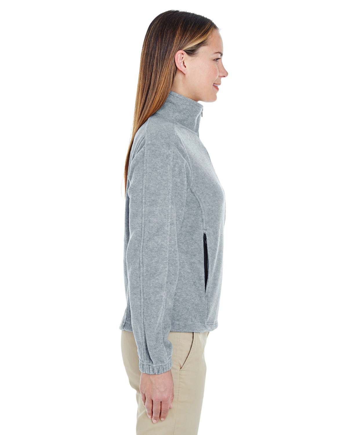 8481 UltraClub GREY HEATHER