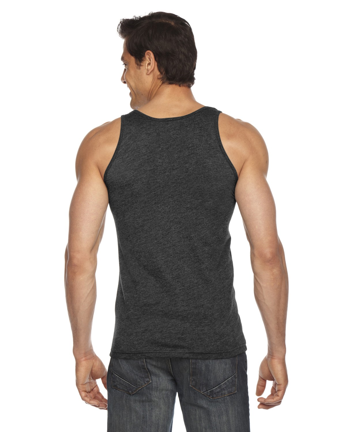BB408W American Apparel HEATHER BLACK