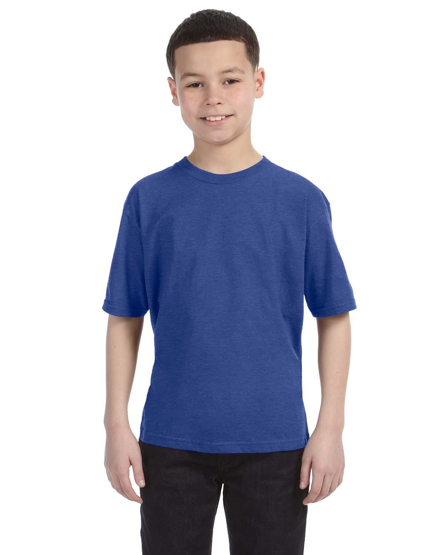 990B Anvil HEATHER BLUE
