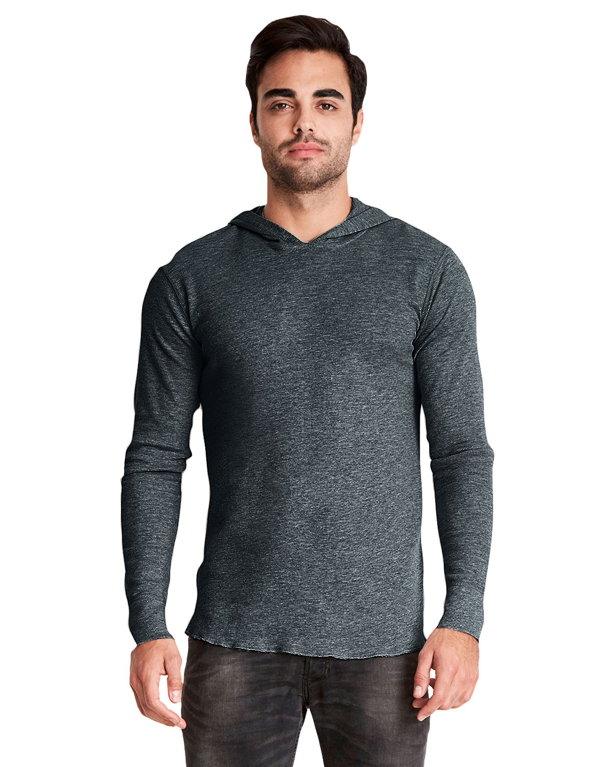 8221 Next Level HEATHER CHARCOAL
