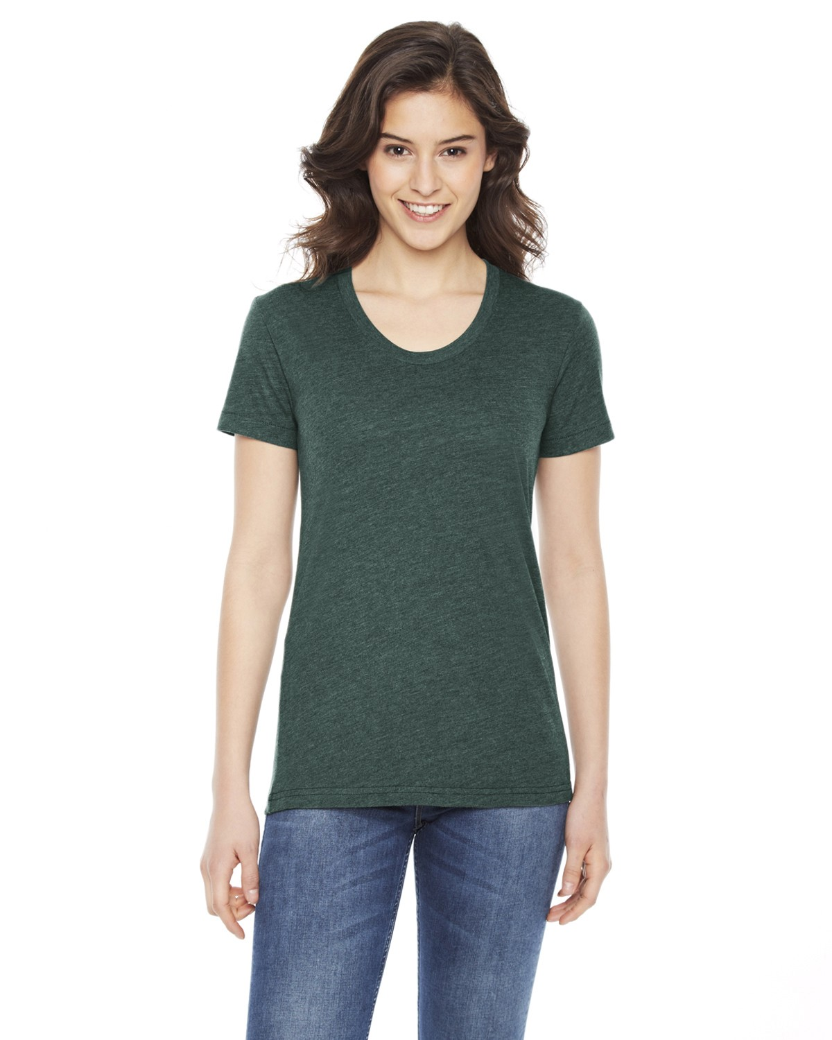 BB301W American Apparel HEATHER FOREST