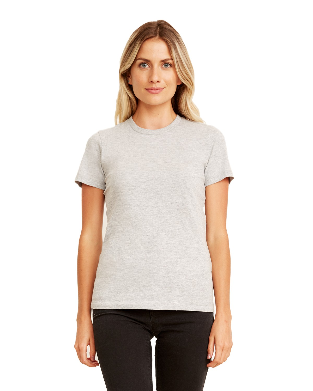 3900A Next Level HEATHER GRAY