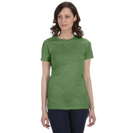 6004 Bella + Canvas 6004 Ladies' The Favorite T-Shirt HEATHER GREEN