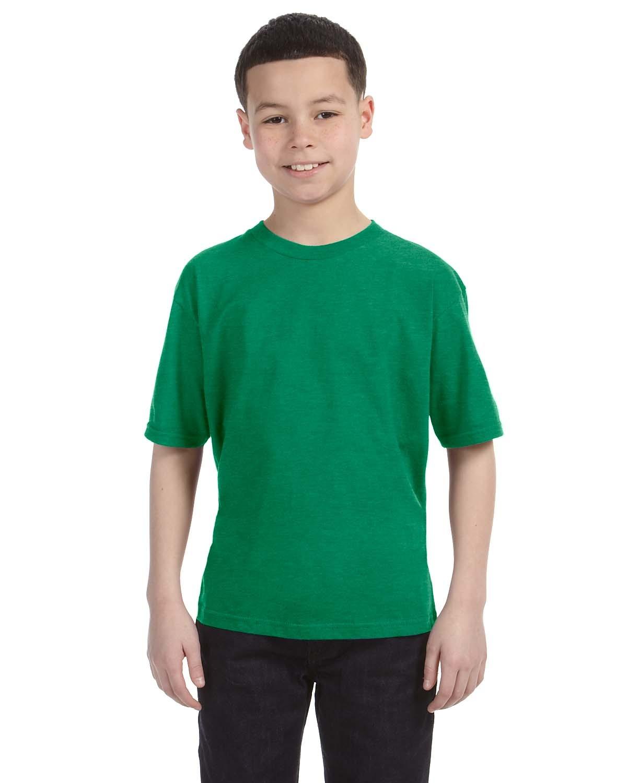 990B Anvil HEATHER GREEN