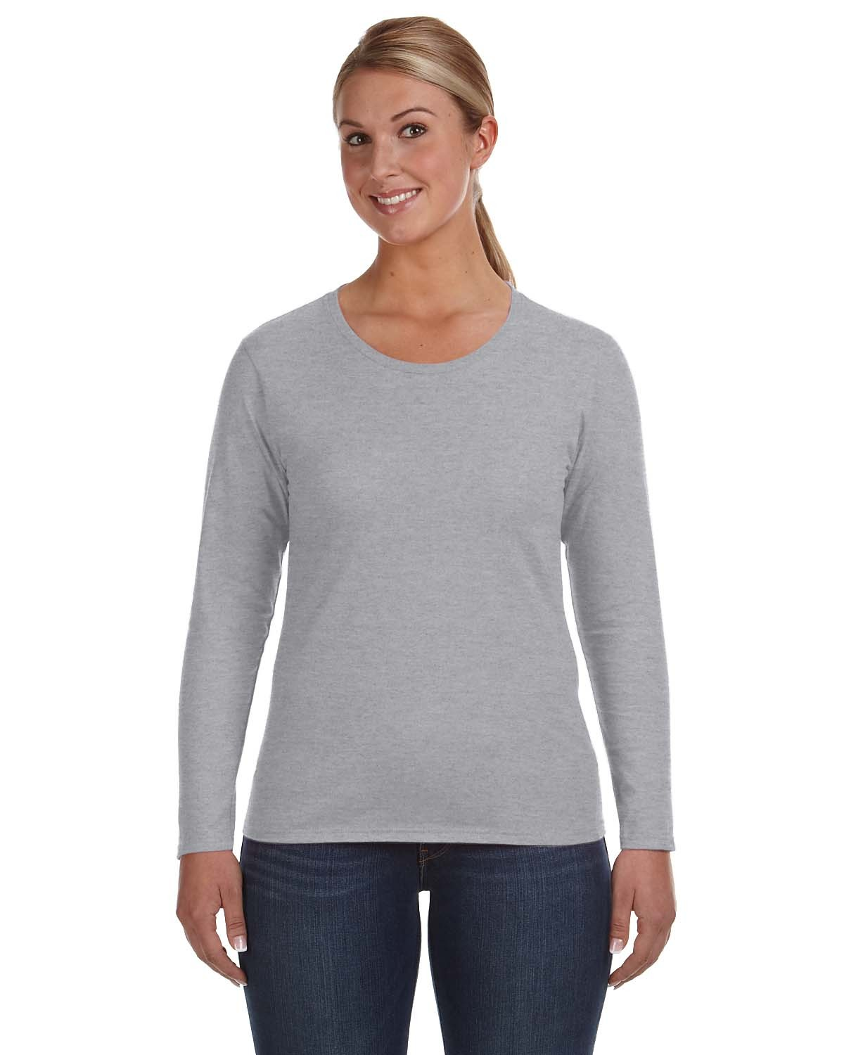 884L Anvil HEATHER GREY