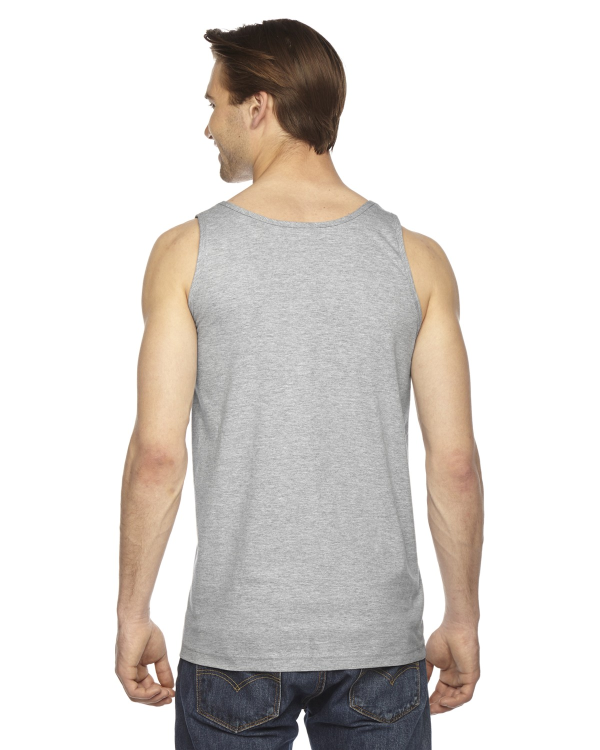 2408 American Apparel HEATHER GREY