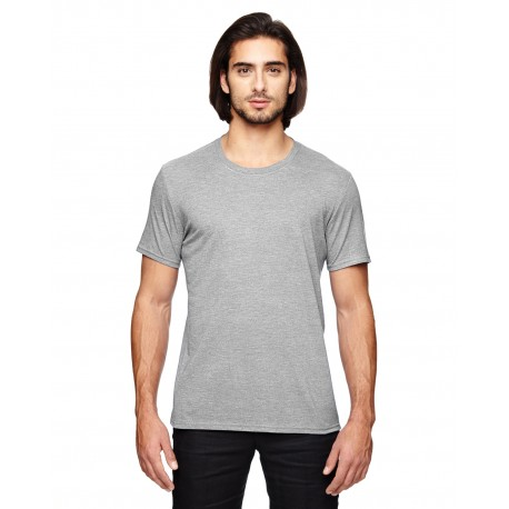 6750 Anvil 6750 Adult Triblend T-Shirt HEATHER GREY