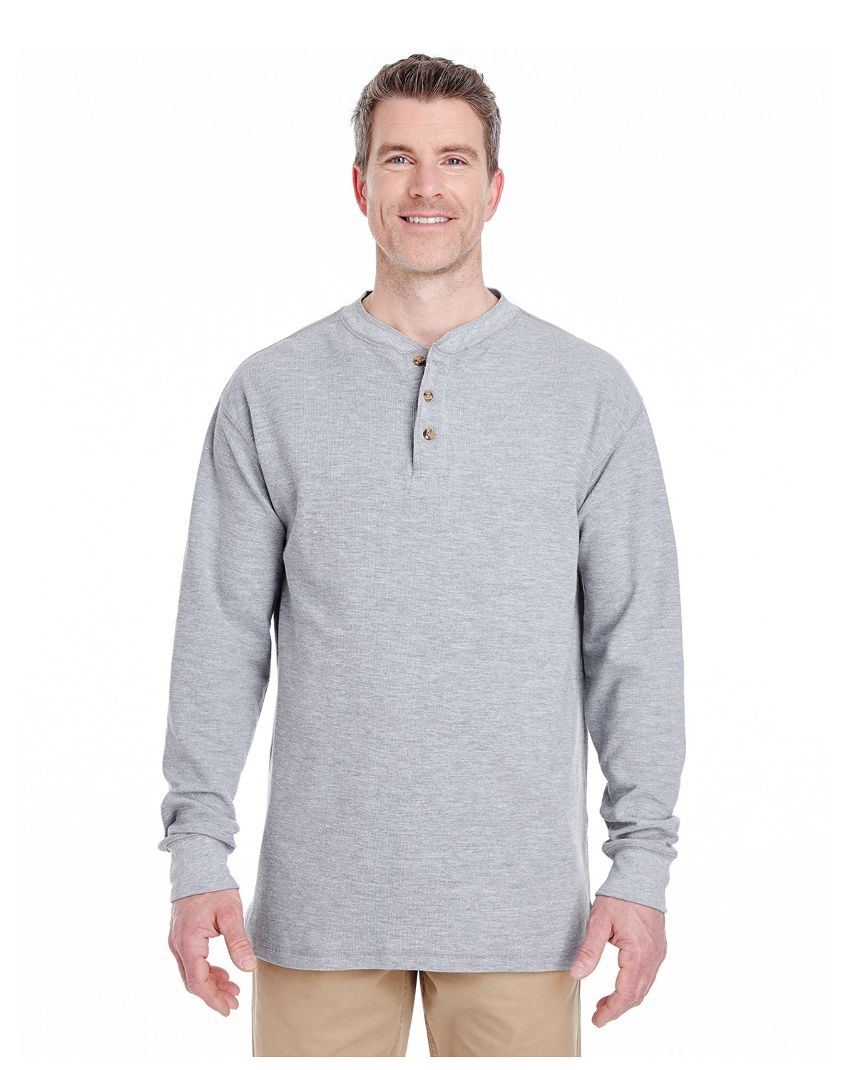 8456 UltraClub HEATHER GREY