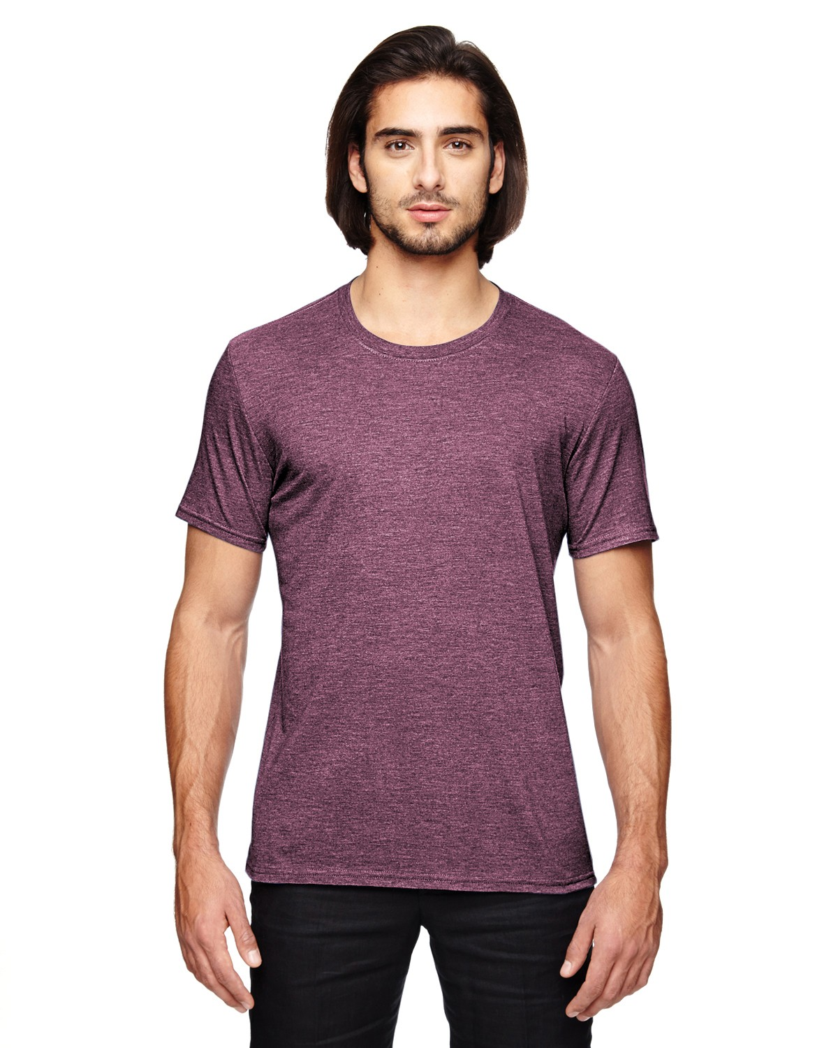 6750 Anvil HEATHER MAROON