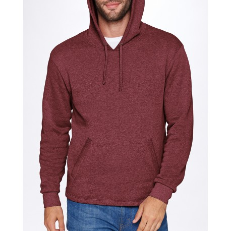 9300 Next Level 9300 Adult PCH Pullover Hoody HEATHER MAROON