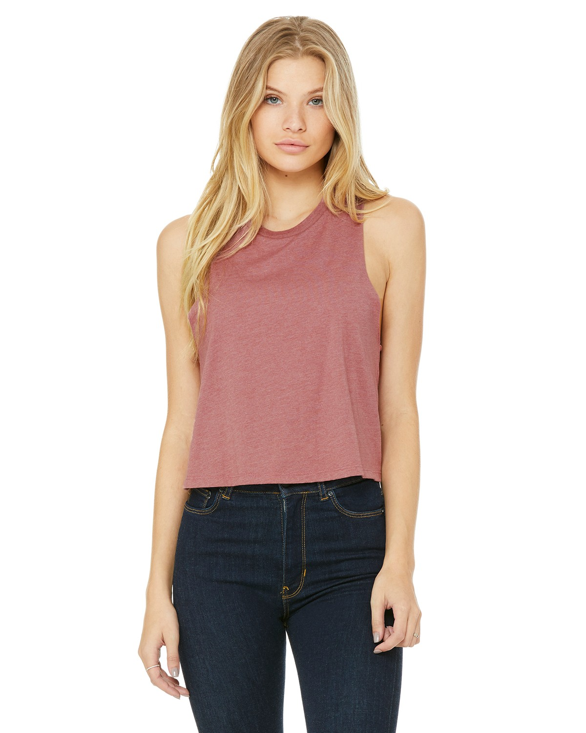 6682 Bella + Canvas HEATHER MAUVE