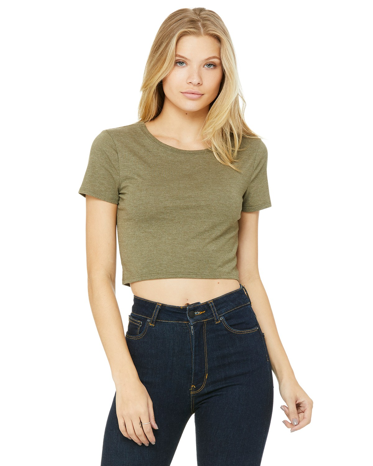 6681 Bella + Canvas HEATHER OLIVE