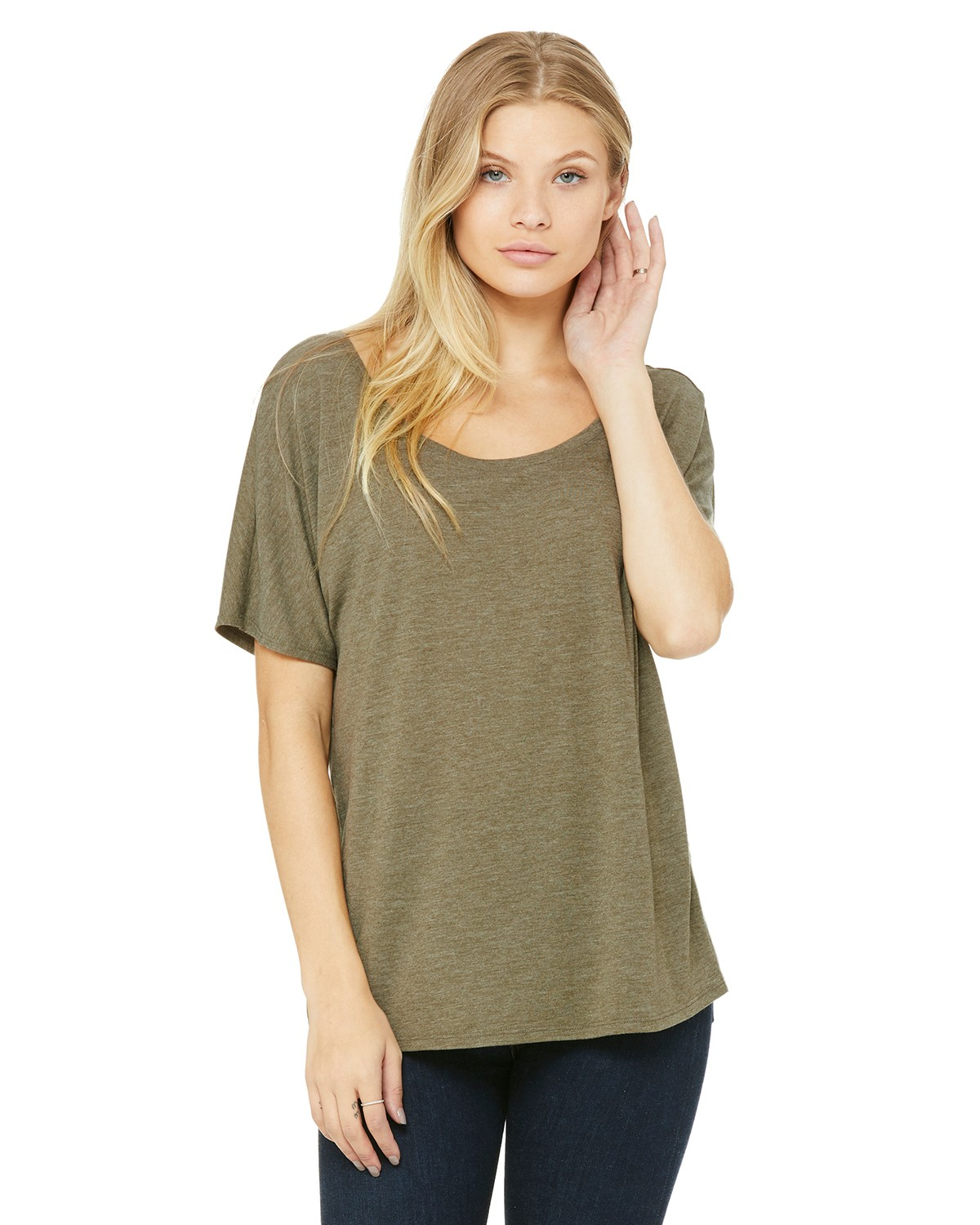 8816 Bella + Canvas HEATHER OLIVE