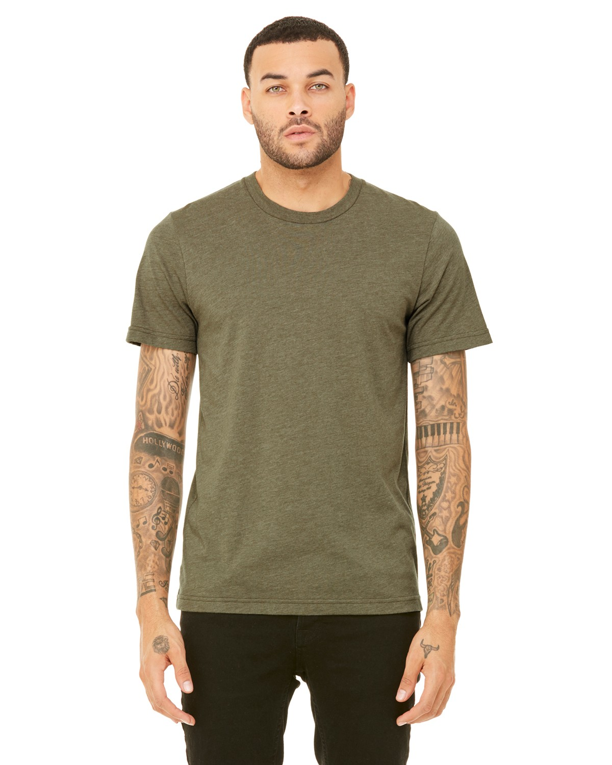 3001C Bella + Canvas HEATHER OLIVE