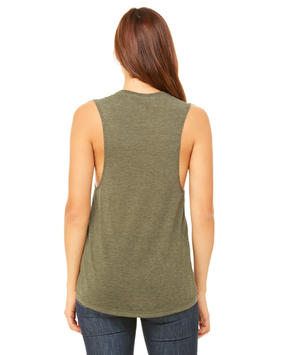 B8803 Bella + Canvas HEATHER OLIVE