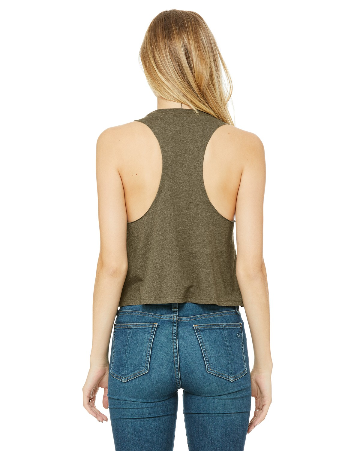 6682 Bella + Canvas HEATHER OLIVE