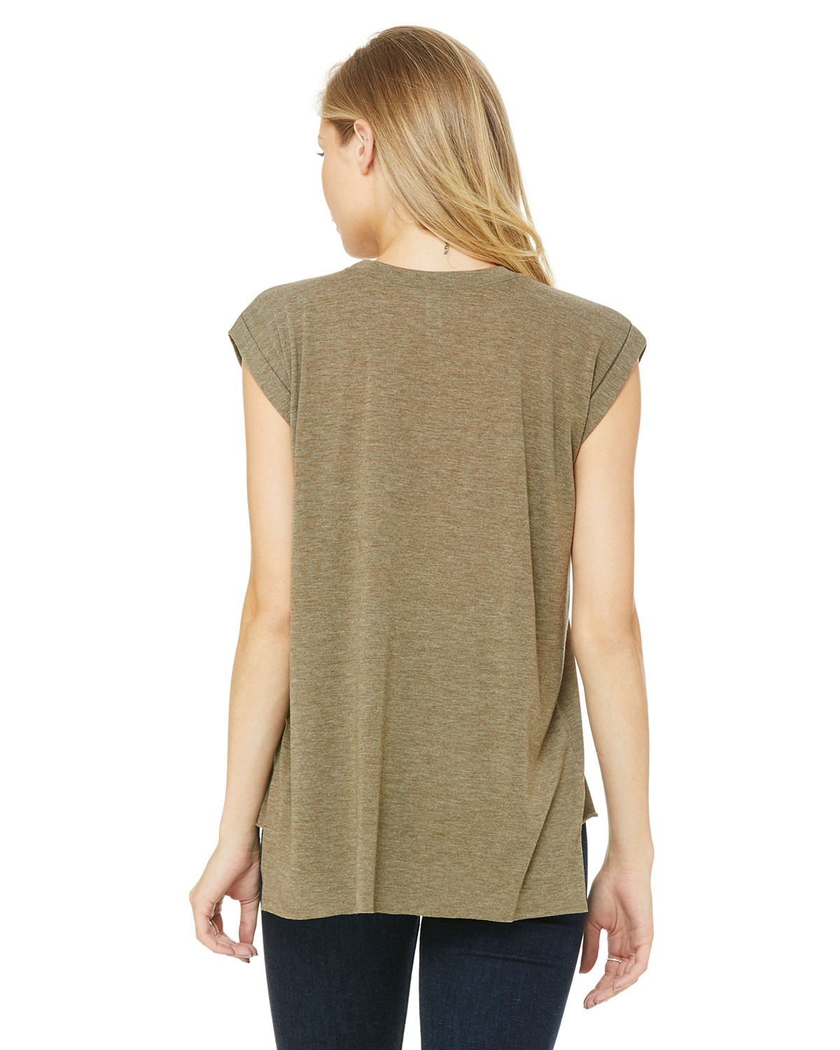 8804 Bella + Canvas HEATHER OLIVE