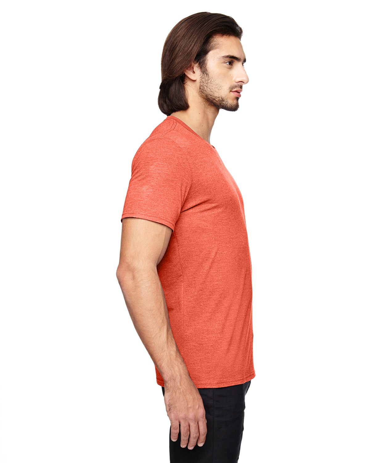 6750 Anvil HEATHER ORANGE