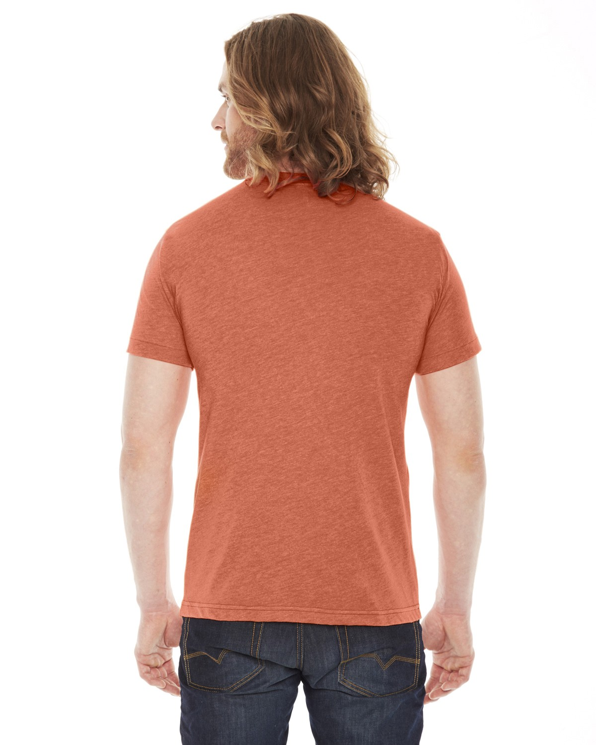 BB401W American Apparel HEATHER ORANGE