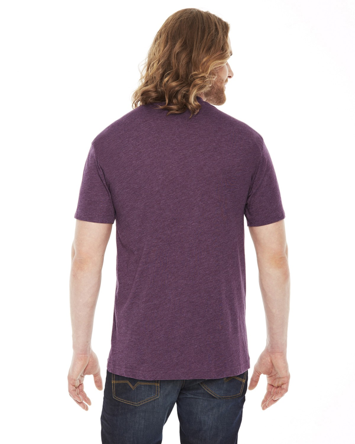 BB401W American Apparel HEATHER PLUM