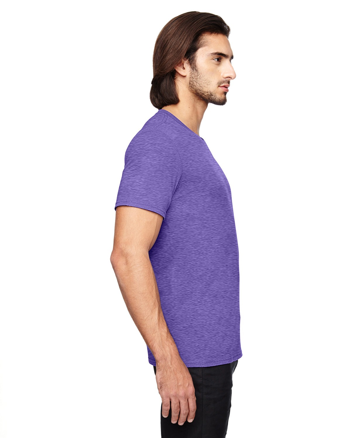 6750 Anvil HEATHER PURPLE