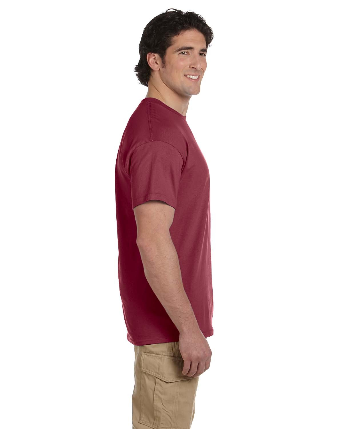 5170 Hanes HEATHER RED