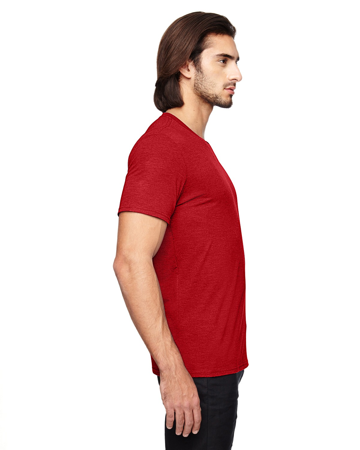 6750 Anvil HEATHER RED