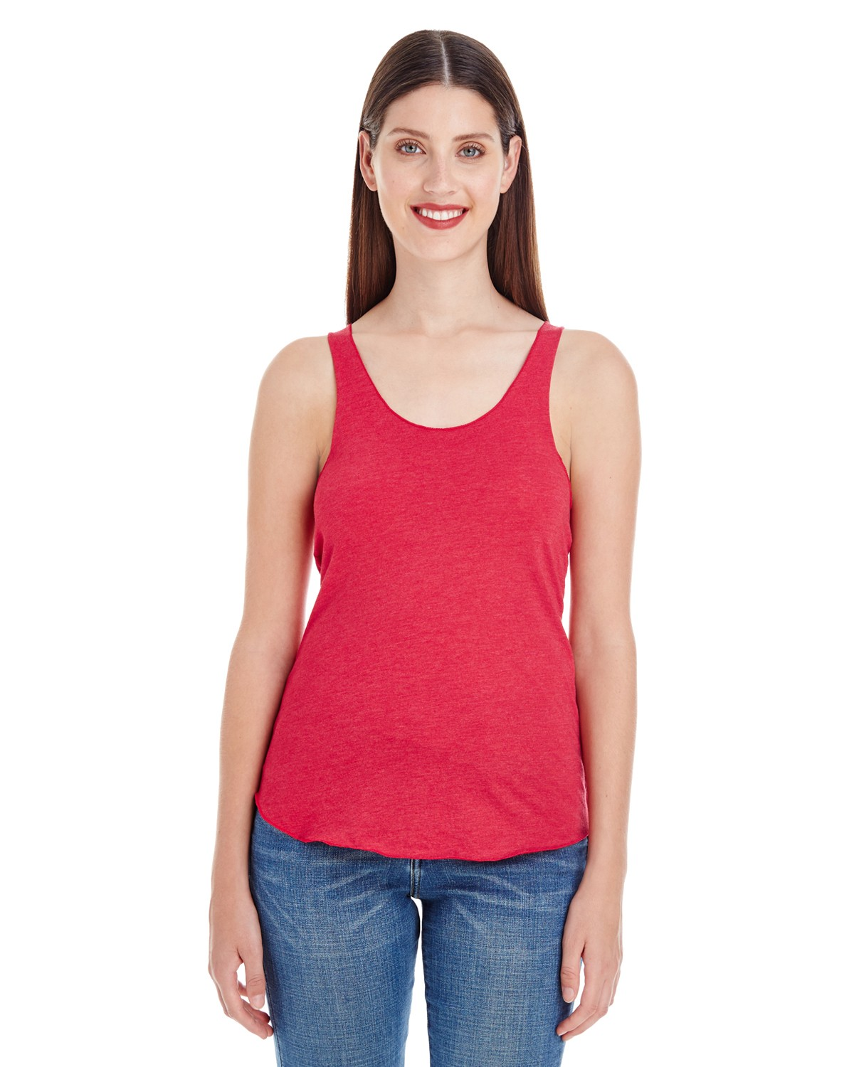 BB308W American Apparel HEATHER RED