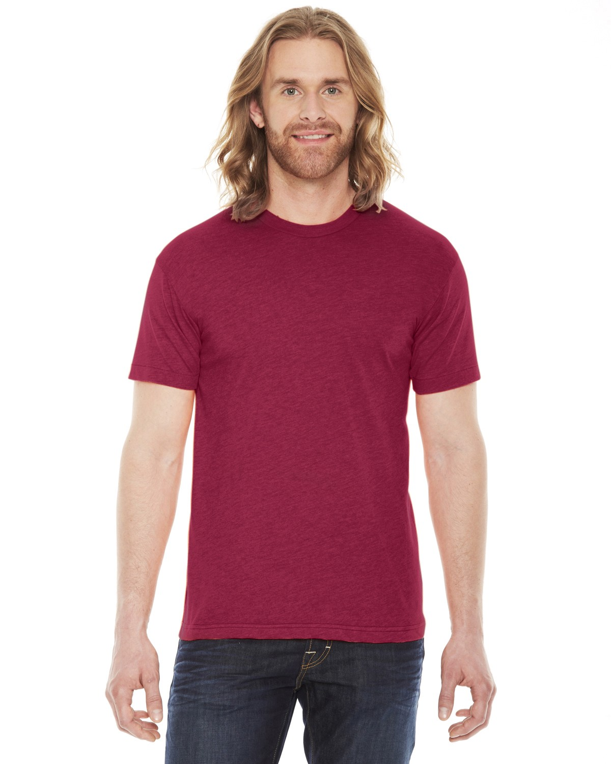 BB401W American Apparel HEATHER RED