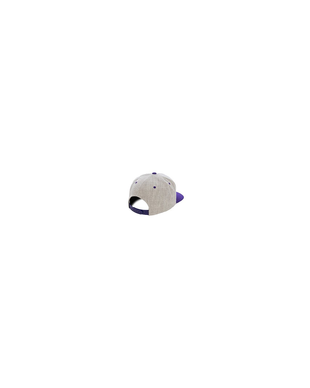 6089MT Yupoong HEATHER/PURPLE