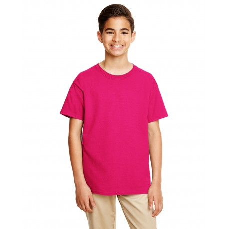 G645B Gildan G645B Youth Softstyle 4.5 oz. T-Shirt HELICONIA