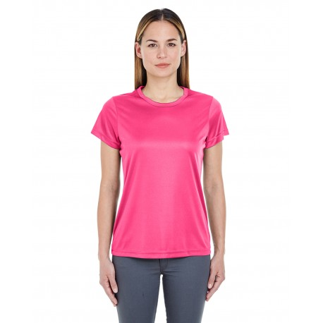 8420L UltraClub 8420L Ladies' Cool & Dry Sport Performance Interlock T-Shirt HELICONIA