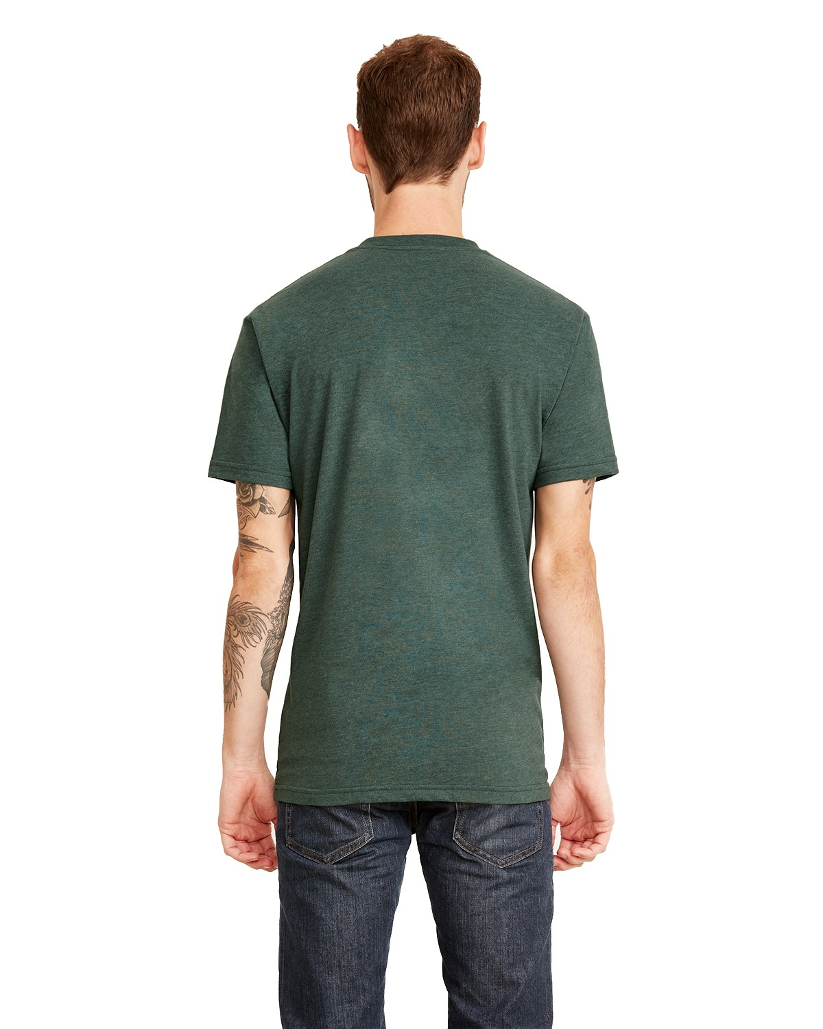 6410 Next Level HTH FOREST GREEN