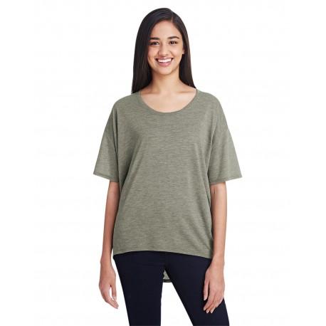36PVL Anvil 36PVL Ladies' Freedom T-Shirt HTHR CITY GREEN