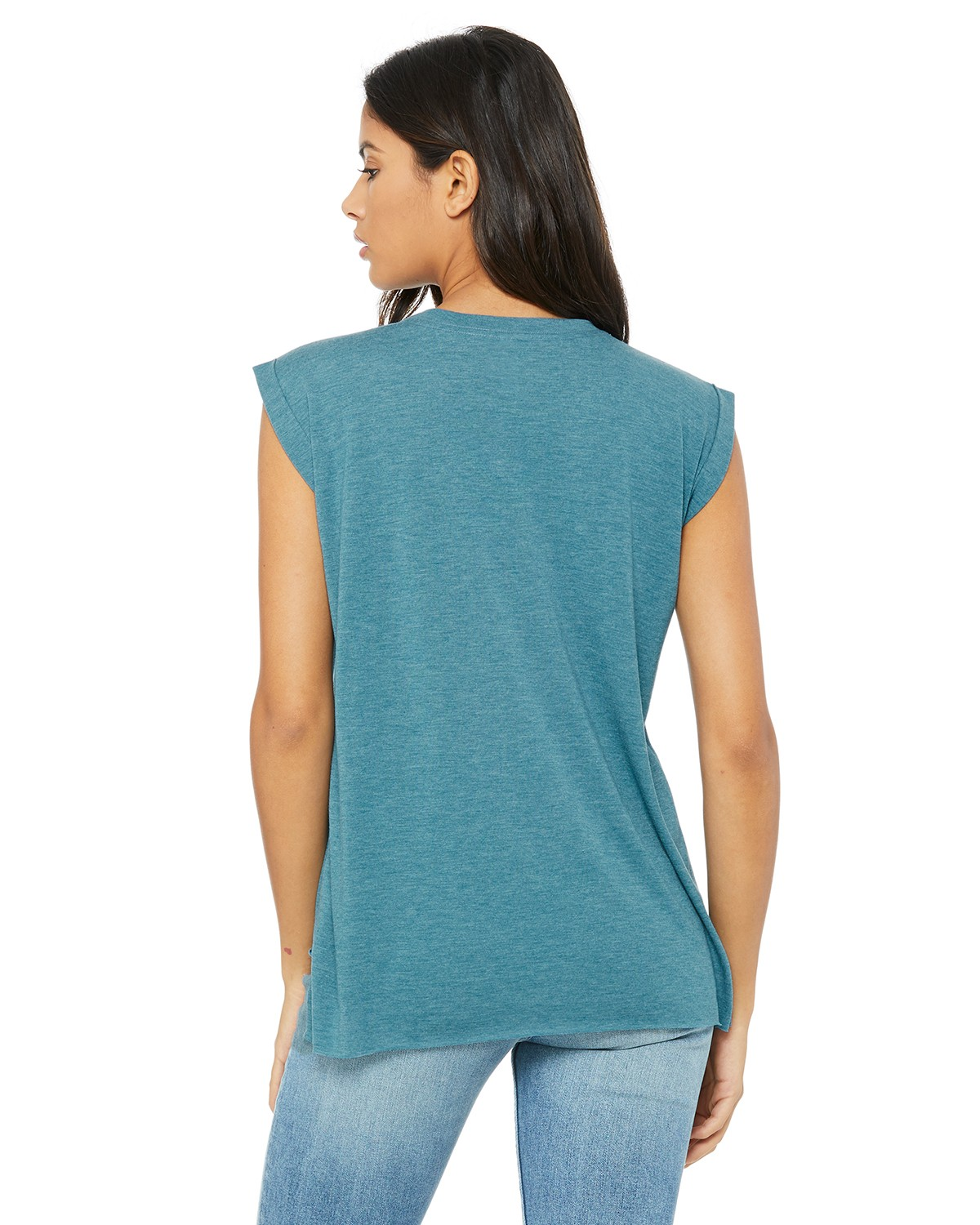 8804 Bella + Canvas HTHR DEEP TEAL