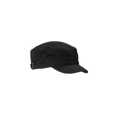 BA501 Big Accessories BA501 Short Bill Cadet Cap BLACK