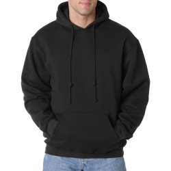 Bayside BA960 Adult Hooded Pullover Fleece