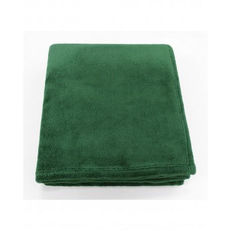 STV5060 Pro Towels STV5060 Soft Touch Velura Throw Kanata Blanket HUNTER GREEN