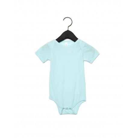 134B Bella + Canvas 134B Infant Triblend Short-Sleeve One-Piece ICE BLUE TRIBLND