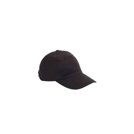 BX008 Big Accessories BX008 5-Panel Brushed Twill Unstructured Cap BLACK