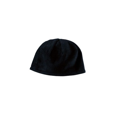 BX013 Big Accessories BX013 Fleece Beanie BLACK
