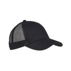 Big Accessories BX019 6-Panel Structured Trucker Cap