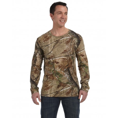 3981 Code Five 3981 Men's Realtree Long-Sleeve Camo T-Shirt AP
