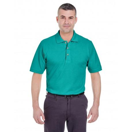 8535 UltraClub 8535 Men's Classic Pique Polo JADE