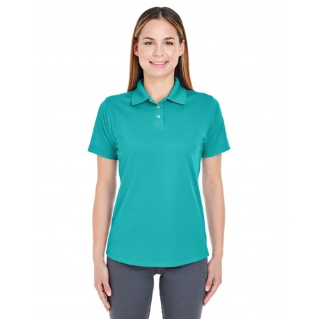 8445L UltraClub 8445L Ladies' Cool & Dry Stain-Release Performance Polo JADE