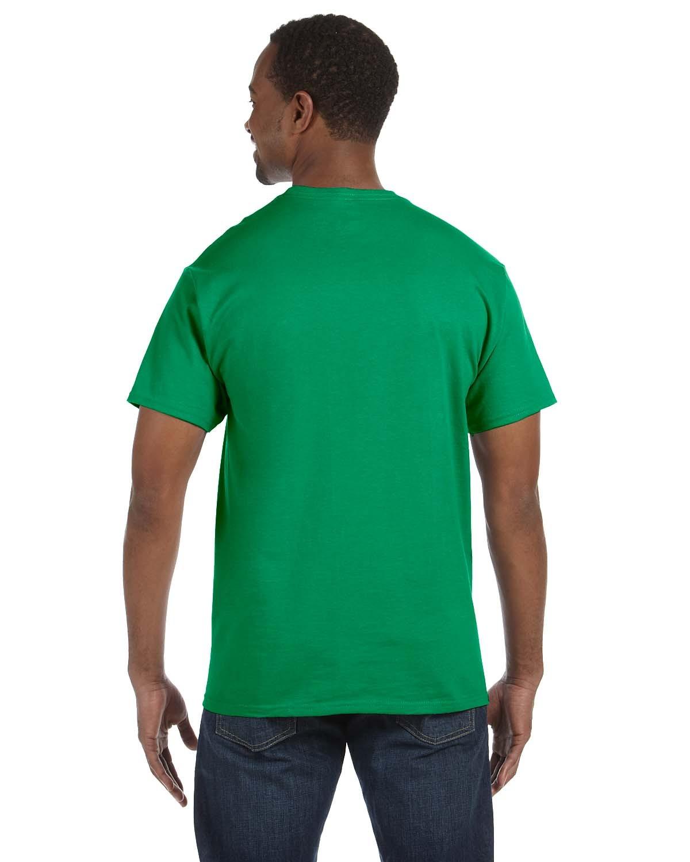 5250T Hanes KELLY GREEN
