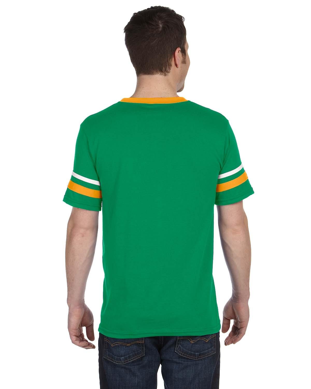360 Augusta Sportswear KELLY/GOLD/WHT