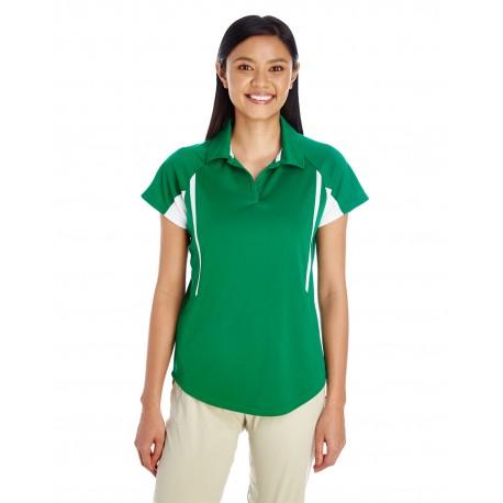 222730 Holloway 222730 Ladies' Avenger Short-Sleeve Polo KELLY/WHITE