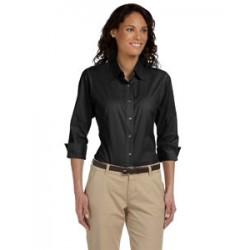 Devon & Jones DP625W Ladies' Perfect Fit 3/4-Sleeve Stretch Poplin Blouse