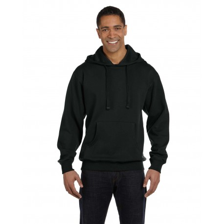 EC5500 Econscious EC5500 Adult 9 oz. Organic/Recycled Pullover Hood BLACK